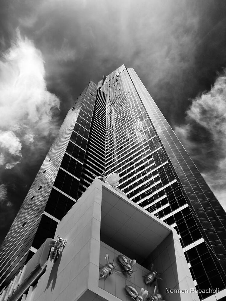 Climbing the walls - Euraka Tower - Melbourne by keystone