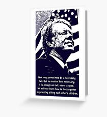 JIMMY CARTER-2 Greeting Card