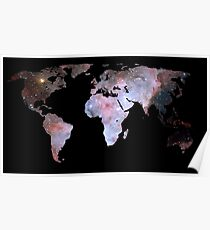 Space Continents  Poster