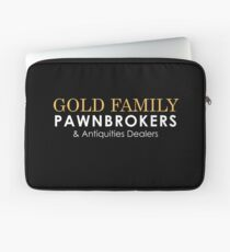 Gold Family Pawnbroker and Antiques Dealers Laptop Sleeve