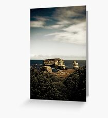 Bay of Martyrs, Great Ocean Road, Victoria Greeting Card