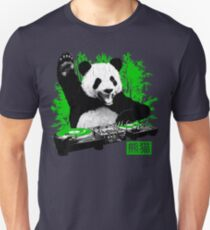DJ Panda (vintage distressed look) Unisex T-Shirt