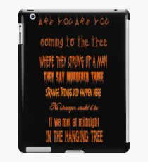 The Hanging Tree iPad Case/Skin
