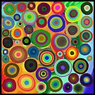 Painted Circles by Cherie Balowski