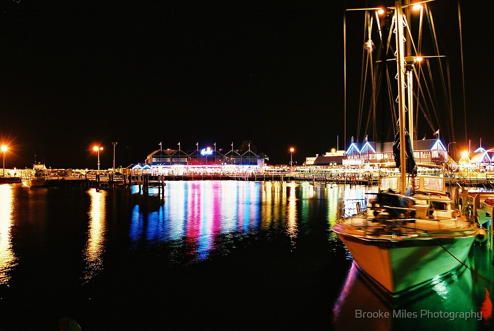 Fremantle Harbour  by Brooke Miles Photography