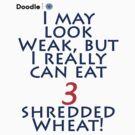 Shredded Wheat! by Andy Harris
