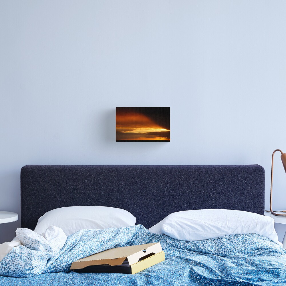 Goodbye and goodnight Canvas Print