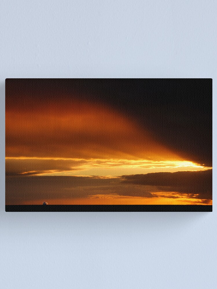 Alternate view of Goodbye and goodnight Canvas Print