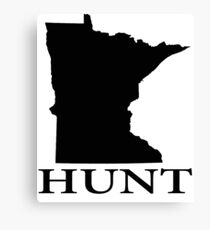 Hunt Minnesota Canvas Print