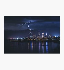 Cleveland Storm Photographic Print