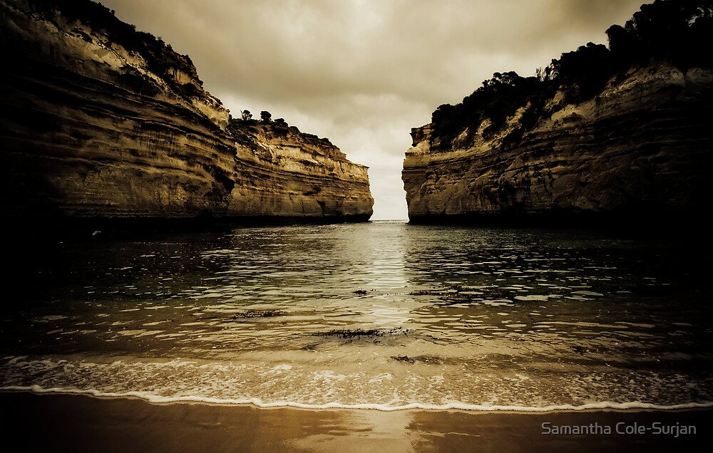 Loch Ard Gorge #2, Great Ocean Road, Victoria by Samantha Cole-Surjan
