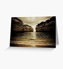 Loch Ard Gorge #2, Great Ocean Road, Victoria Greeting Card