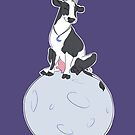 Moon Cow: Queen of the Moon by Laura Aufiero