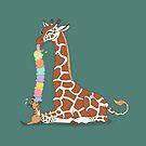 Giraffe Ice Cream by Diony  Rouse