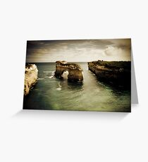 Natural Arch #2, Great Ocean Road, Victoria  Greeting Card