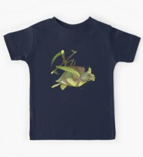 Fred the Giant Flying Laser-Eyed Turtle Kids Tee