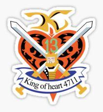 King of heart 4711 Sticker