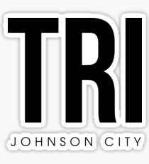 TRI - Johnson City Airport Code Sticker