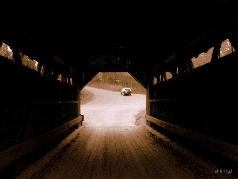 Inside Emily's Bridge by shenty1