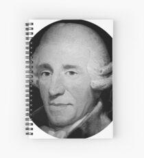 Franz Joseph Haydn Spiral Notebook