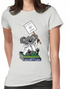 March for Science Sydney – Koala, full color Womens Fitted T-Shirt