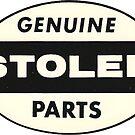 Vintage Genuine Stolen Parts by hilda74