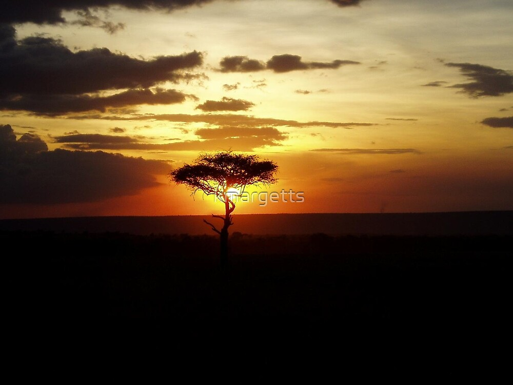 Kenya Sunset by kmargetts
