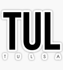 TUL - Tulsa Airport Code Sticker