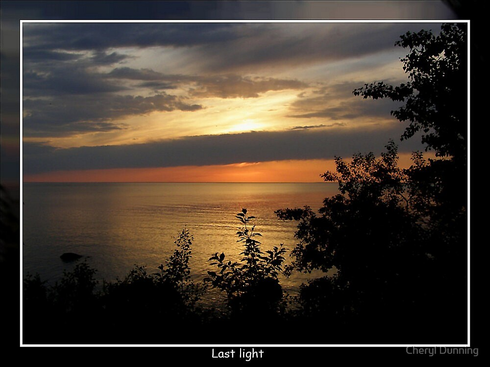 last light by Cheryl Dunning