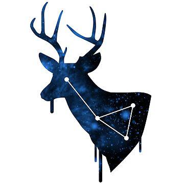 Galactic Elk by ihatemyjob