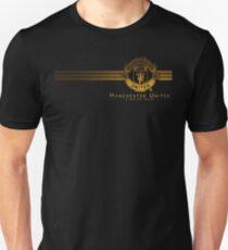 manchester united logo wallpaper Unisex T-Shirt