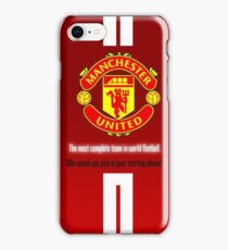 manchester united best wallpaper iPhone Case/Skin