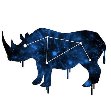Galactic Rhino by ihatemyjob