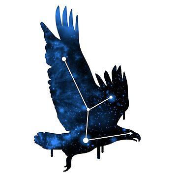 Galactic Bird of Prey by ihatemyjob