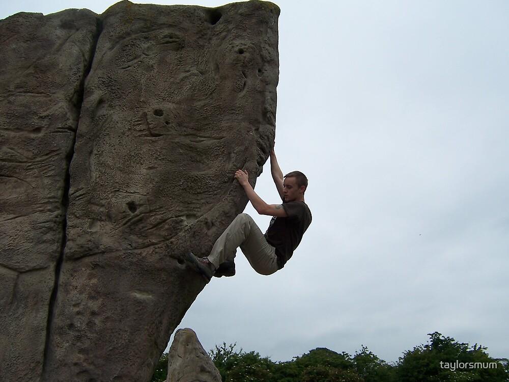 rock ard climbing by taylorsmum
