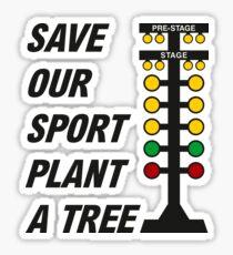 Drag Racing Tree Sticker