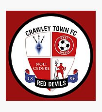 crawley town fc Photographic Print