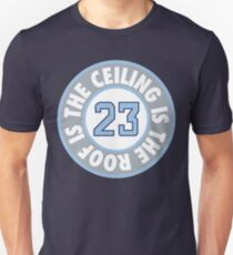 The Ceiling Is The Roof (Loop) - (Light Blue/Grey) Unisex T-Shirt