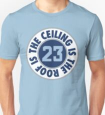 The Ceiling Is The Roof (Loop) - (Grey/White) Unisex T-Shirt