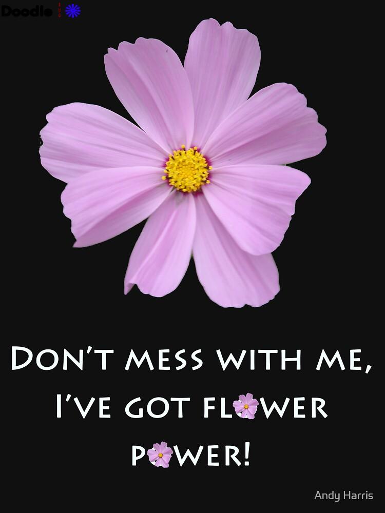Flower Power - Dark Shirt by neoquaid