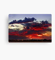 Sunrise Thunderstorm Canvas Print
