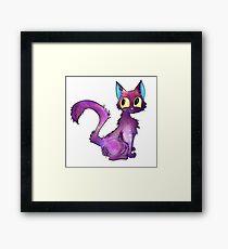 Space Kitty Framed Print
