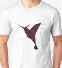 Origami Humming Bird Unisex T-Shirt