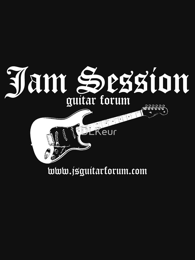 Jam Session Scot Kroeker Dark TShirt 1 by DLKeur