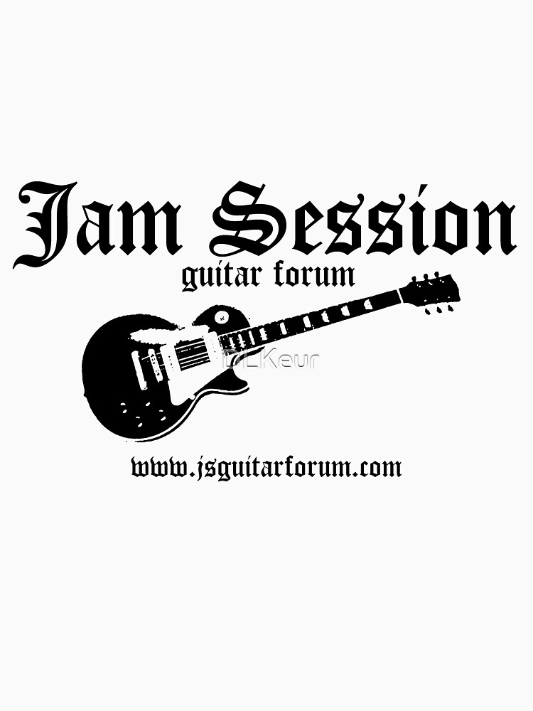 Jam Session Guitar 3 TShirt by Scot Kroeker by DLKeur