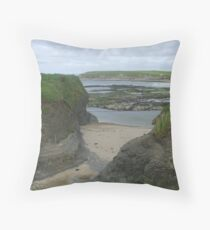 Bundoran Strand, County Donegal Throw Pillow