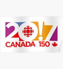 CANADA 150th Poster