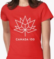 CANADA 150th Womens Fitted T-Shirt