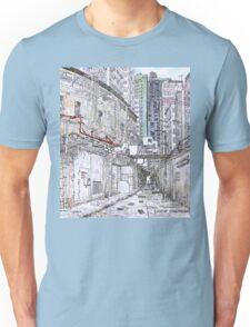 Hong Kong Kowloon narrow alley Unisex T-Shirt