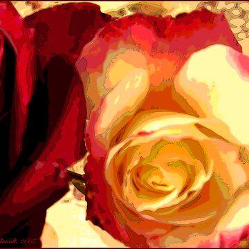 Rosey Outlook by CricketNoel